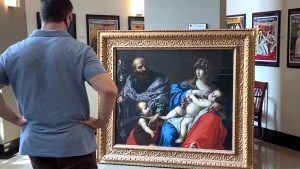 Valuable 17th century painting turns up in New Roc