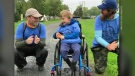 Together, Adam Chamberlain of Fredericton and Eric Scouten of Saint John, embarked on their second annual River Valley Wish Walk last week.
