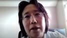 Dr. Hsiu-Li Wang speaks at Waterloo Region's COVID-19 press briefing on Sept, 17, 2021