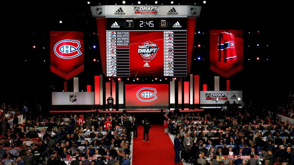 NHL entry draft in 2017