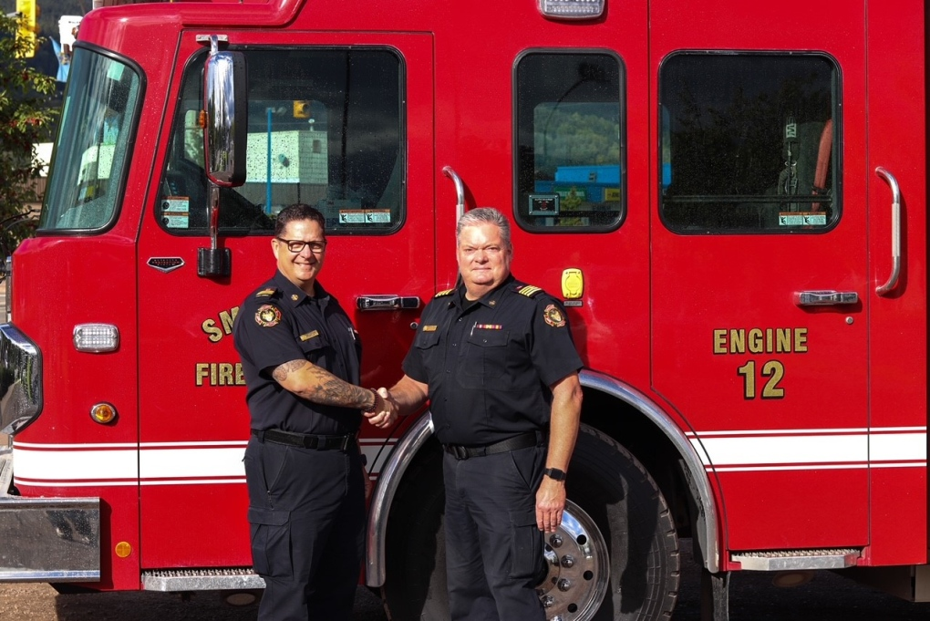Smithers Fire Chief retires