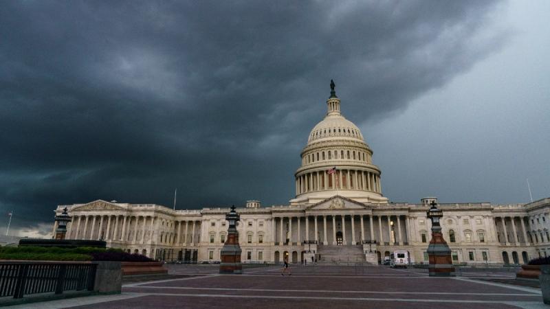 The U.S. Capitol in Washington, on Aug. 28, 2020. (J. Scott Applewhite / AP)