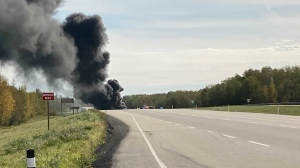 A crash at Highways 43 and 33 on Sept. 17, 2021, closed traffic in the area.