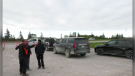 Safety concerns over closed access road to North Perimeter Highway