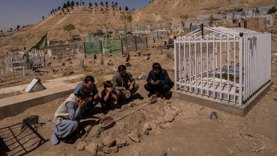 drone strike Kabul