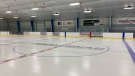 A look at the newly renovated Frontenac Community Arena near Verona, just north of Kingston. (Kimberley Johnson/CTV News Ottawa)