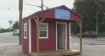 Red shed charity hub in Brantford