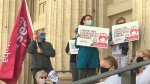 Nurses say Manitoba in a 'critical' situation