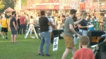 Downtown Kitchener Ribfest and Craft Beer Show 2021 in Victoria Park. (Colton Wiens/CTV Kitchener)