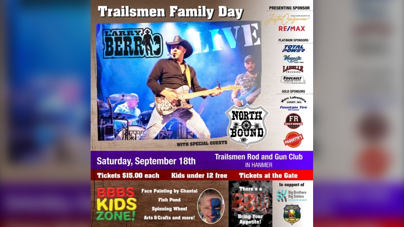It won't be a Sudbury Saturday night, but a Sudbury Saturday afternoon. A local musician is staging a concert this weekend to help a local organization, as well as an important charity. (Supplied)