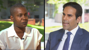 CTV News National Affairs Correspondent Omar Sachedina speaks with Green Party Leader Annamie Paul for an interview airing Friday, Sept. 17, 2021.
