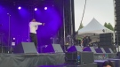Night one at CityFolk music festival at Lansdowne
