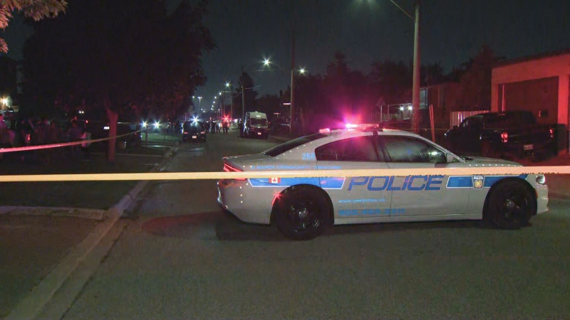 Peel police say three people were shot in Mississauga.