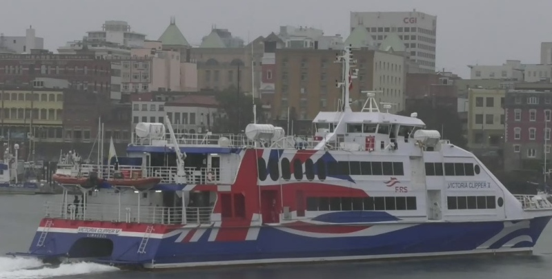 Clipper ferry returns to Vancouver Island