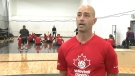 Mik Bartholdy is a longtime leader of the Canadian mens' sit volleyball team and he's our Athlete of the Week