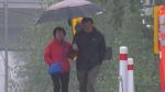 Rain and wind hammer South Coast