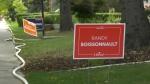 Election signs Edmonton centre