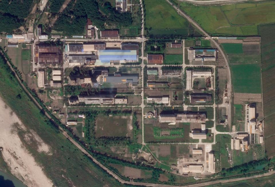 North Korea uranium enrichment plant