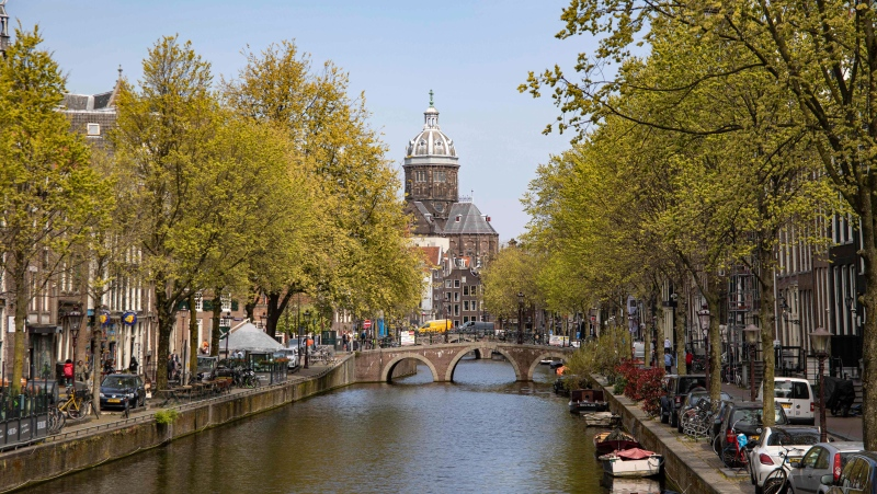 The Netherlands has long been the world's tallest nation -- but its people are getting shorter, according to Dutch researchers. (Nicolas Economou/NurPhoto/Getty Images)