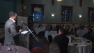 Glencore vice-president Peter Xavier was the key-note speaker at the Greater Sudbury Chamber of Commerce Annual General Meeting where he updated the chamber on the latest in their world. Sept. 9/21 (Ian Campbell/CTV News Northern Ontario)