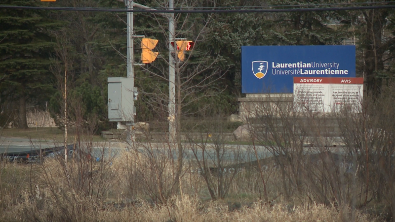 Staffing shortages have led to a delay in processing Ontario Student Assistance Program (OSAP) application forms at Laurentian University, which in turn has led to delays confirming enrolments. Sept. 17/21 (Ian Campbell/CTV News Northern Ontario)