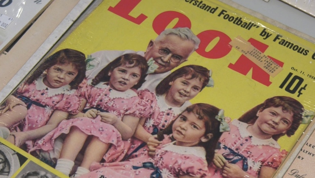 The five sisters Annette, Yvonne, Cécile Marie, Marie and Émilie were born May 28, 1934 in a humble farmhouse. Their mother, Elzire, suspected she was carrying twins, but no one was aware that giving birth quintuplets was even possible. Sept. 18/21 (Eric Taschner/CTV News Northern Ontario)