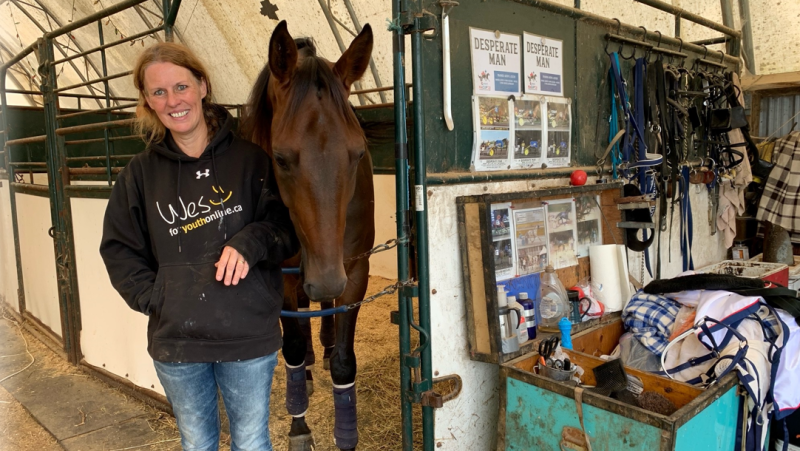 Local race horse 'Desperate Man' takes top prize