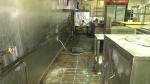 An August fire damaged the kitchen and equipment at Tandoori Mint restaurant in Brockville, Ont. (Nate Vandermeer/CTV News Ottawa)