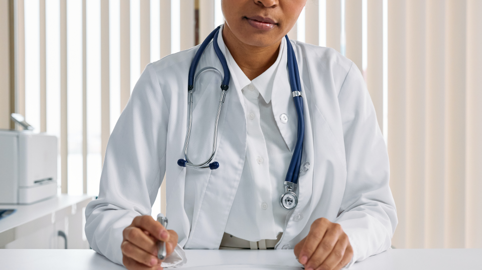med student stock photo