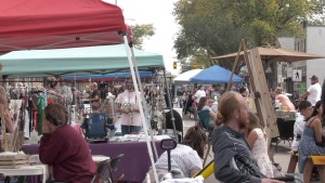 The 33rd Street Fair returned for its eighth year. (Chad Leroux/CTV News)