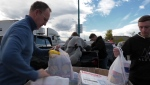 Thousands of kilograms of food donations have been collected so far during the Calgary-wide food drive.