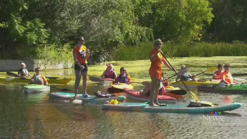 Orange Out Paddle Day