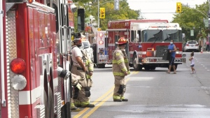 Residents of an Alliston apartment were forced to evacuate from their homes after a small fire broke out in one unit.