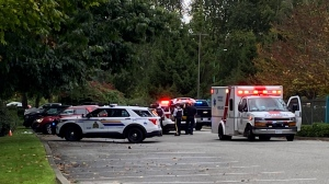 Police in Burnaby are investigating a shooting near a youth sports complex in the city that sent one person to hospital Saturday afternoon. (CTV)