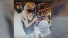 OPP are asking for the public's help in identifying this suspect, believed to be connected to a theft and fraud incident in the Orillia area on Aug. 3, 2021 (Courtesy: OPP)