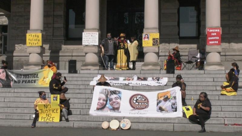 Rally for Chantel Moore