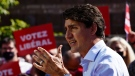 Liberal Leader Justin Trudeau makes a campaign stop in Richmond Hill, Ont., on Saturday, Sept. 18, 2021. THE CANADIAN PRESS/Sean Kilpatrick