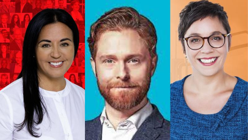 The race in Hochelaga is a three-way race between Liberal incumbent Soraya Mertinez Ferrada, Bloc Quebecois Simon Marchand and NDP Catheryn Roy-Goyette.
