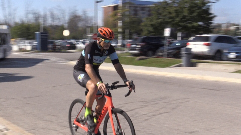 Cycling event for Type 1 diabetes