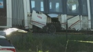 LRT train  derailment