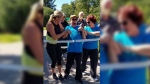 Man with cerebral palsy walks 5km in Terry Fox Run