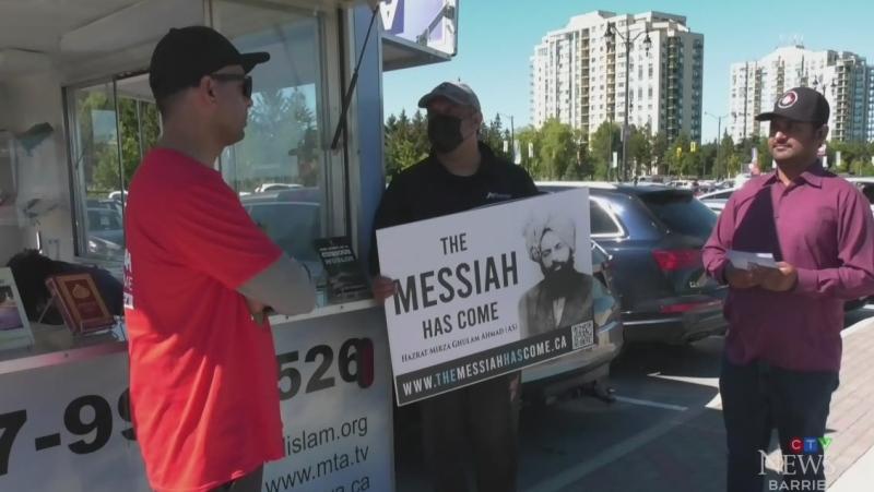 Exhibit to combat Islamophobia in Barrie