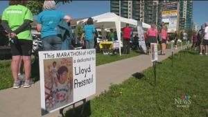 Barrie's Terry Fox Run happened virtually this year on Sun. Sept. 19, 2021 (Chris Garry/CTV News Barrie)