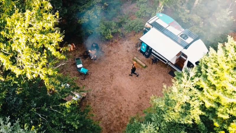A new kind of camper van