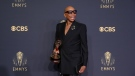 """RuPaul Charles won the Emmy for outstanding competition program for """"RuPaul's Drag Race"""" on Sunday. (Danny Moloshok/Invision/AP via CNN)"""