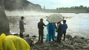 Historic remains found near Lockport dam