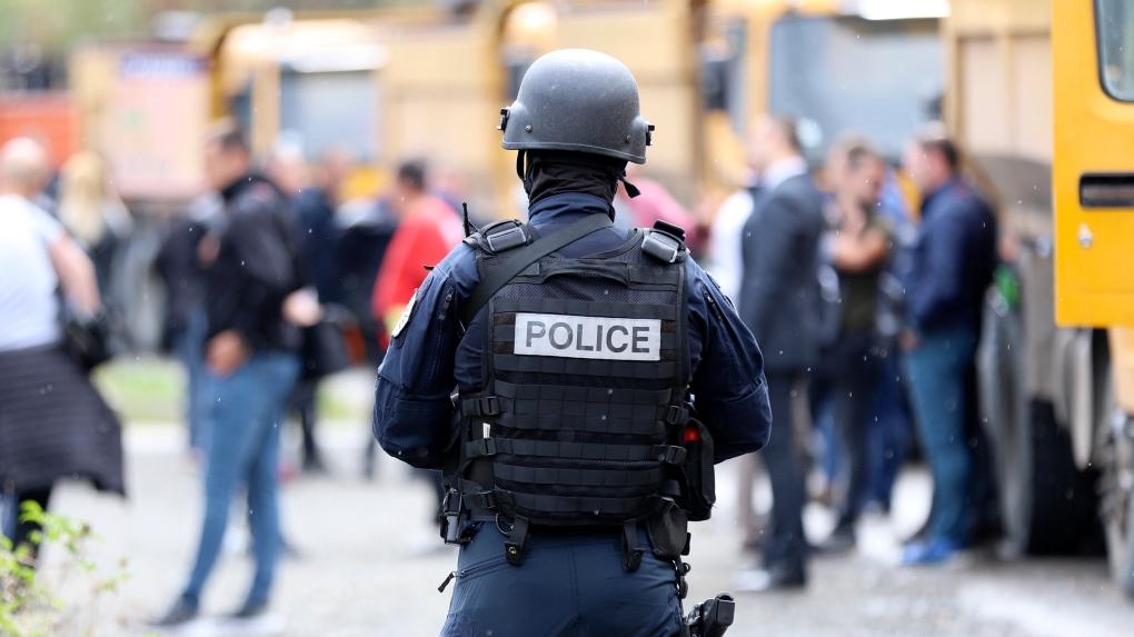 Kosovo border officer