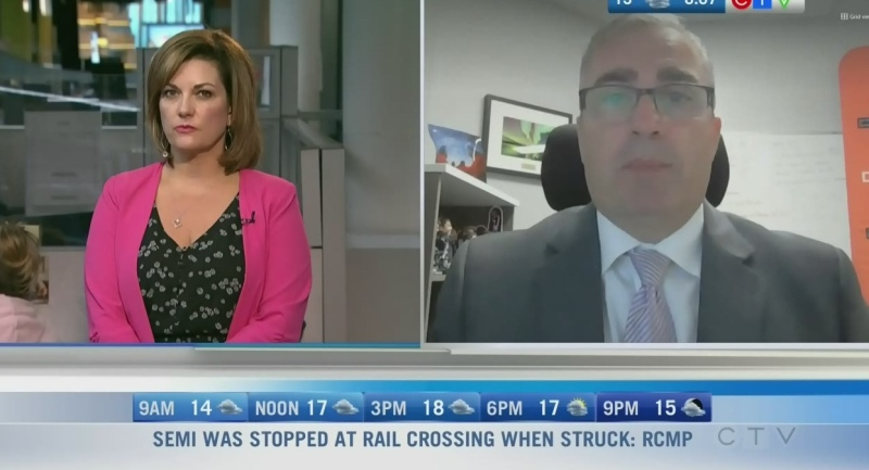 The pandemic has hurt businesses in a big way and that will be top of mind for many this federal election. Rachel Lagacé has more.