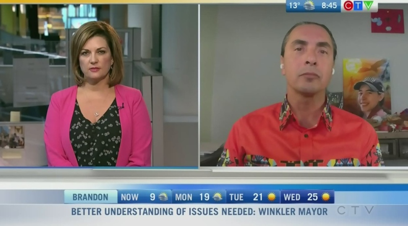 Assembly of Manitoba Chiefs' Grand Chief Arlen Dumas says First Nations issues are key this election. Rachel Lagacé explains