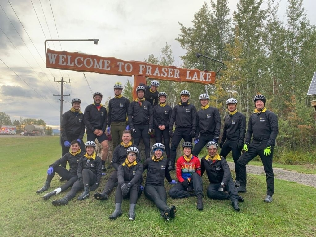 Cops for Cancer Tour de North